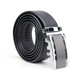 Chamaripa Men's Genuine Leather Dress Belt Black Gift