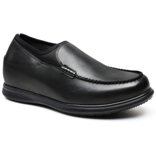 Business Casual Men Elevator Shoes Ireland Height Increasing Loafer Tall Men Shoes 7CM/2.76 Inches Taller