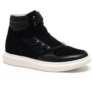 High Shoes For Mens Heel Lift Inserts Elevator Sneakers
