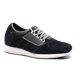 Increase Height 2.76 Inch Ventilate Sneakers For Short Men