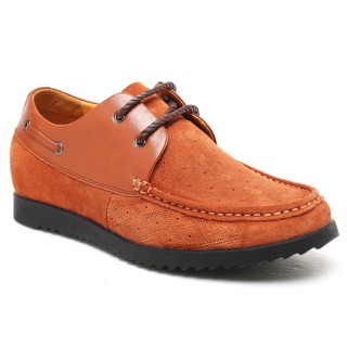 Tall Mens Shoes Casual Elevator Height Increasing Shoes