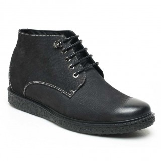 Stylish Casual Height Increasing Boots For Men