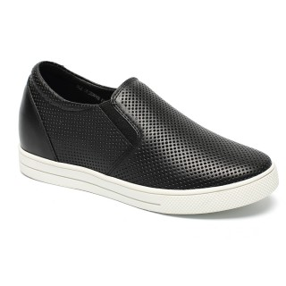 Women Elevator Shoes Breathable Fashion sneaker Height Increase Shoes