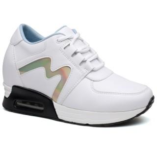 Women Elevtor Shoes Platform Shoes Women Hidden high heel Shoes