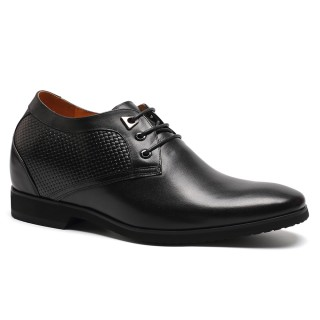 10.5 cm elevator lace-up dress shoes to be taller 4.13 inch
