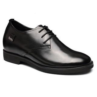 black elevator shoes for short men