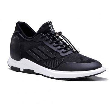Street  Elevator Sneakers Height Increasing Sports Shoes Casual Men Taller Shoes 7 CM / 2.76 Inches