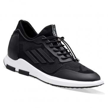 Elevator Sneakers Height Increasing Sports Shoes Casual Men Taller Shoes 7 CM / 2.76 Inches