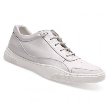 white height increase sneakers mens high heel shoes men's shoes to look taller 5CM / 1.95 Inches