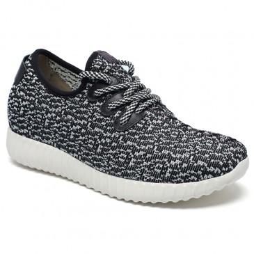 Hidden Heel Shoes for Women Taller Sneaker That Make You 7cm 2.76 inch Taller