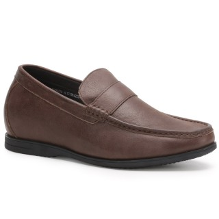 Slip-on Elevator Loafer Casual Height Increasing Shoes for Men to get Taller 6 CM / 2.36 Inches