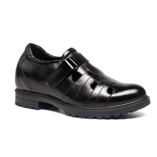 Elevator Sandals for Men Hidden Height Increasing Shoes Outdoor Men Taller Shoes 7cm/2.76 inches
