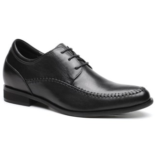 High Heel Men Dress Shoes Formal Heigt Increasing Shoes Men Lifting Shoes 7CM / 2.76 Inches