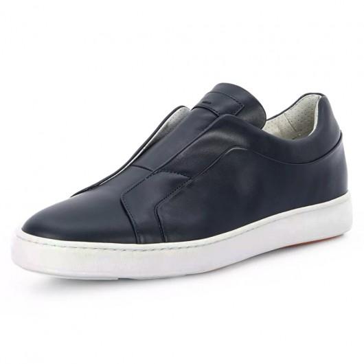 CHAMARIPA schuhe mit erhöhung für männer - hohe schuhe herren - Slip-On-Schuhe 7 CM größer