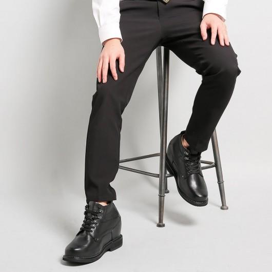 Chamaripa schuhe die größer machen - Schwarz schuhe mit erhöhung für männer 13 CM