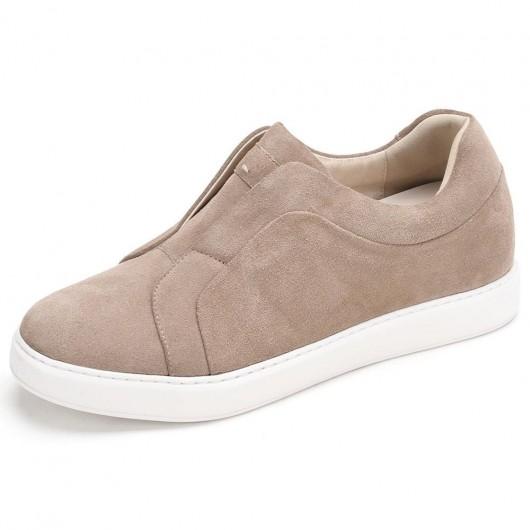 CHAMARIPA schuhe mit erhöhung für männer - aufzugschuhe - Slip-On-Schuhe 7 CM größer