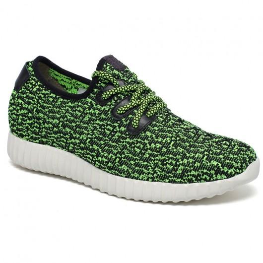 Grün Heel Lift Inserts Frauen Aufzug Schuhe Komfortable Sneaker