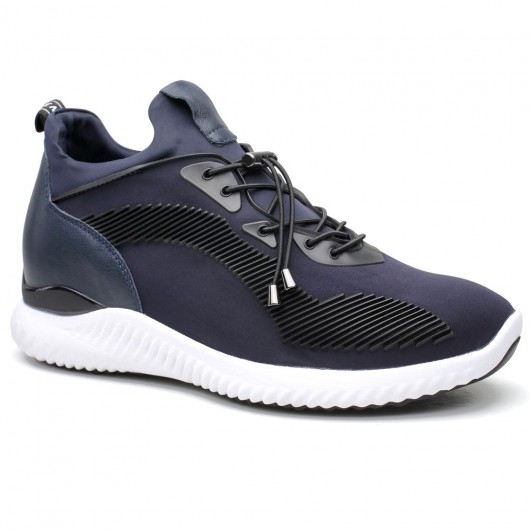 Schwarz Höhe erhöhen Schuhe Höhe Erhöhung Sneaker Lift Schuhe
