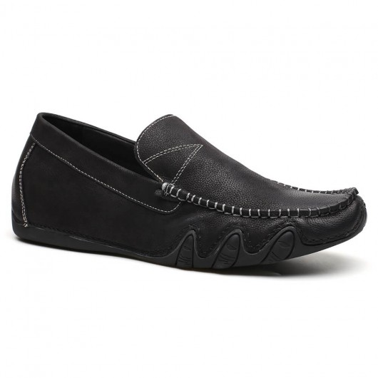 Slip-on-Aufzug-Schuh-beiläufige versteckte Ferse-Loafer für Mann-anhebende Schuhe 5 CM