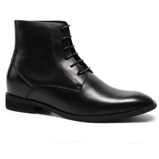 Elevator Boots Men Dress Lace up Ankle Boots Shoes