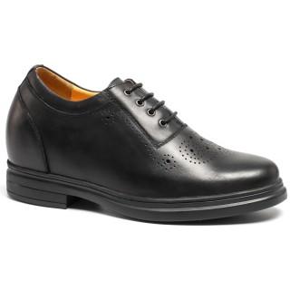 Mens Dress Elevator Schuhe Höhe Erhöhung Bullock Schuhe herrenschuhe mit verstecktem absatz Sie größer 9CM / 3,54 Zoll