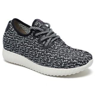 Hidden Heel Shoes for Women Taller Sneaker