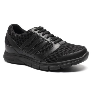 Comfortable Breathe Freely Taller 7CM/2.76 Inch Sports Athletic Trainers Sneakers