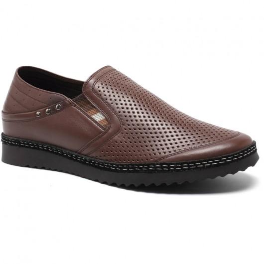 hoogte toenemende sandalen schoenen voor mannen casual zomerschoenen om langer te lijken