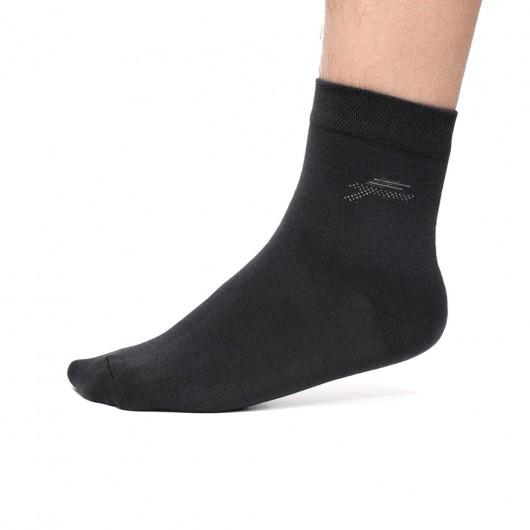 CHAMARIPA Ademende zwarte sokken voor mannen