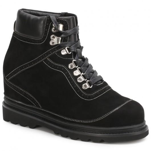 CHAMARIPA verhoogde schoenen sneakers met verhoogde binnenzool zwarte heren sneakers 10CM