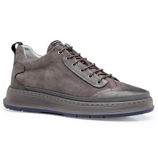 Chamaripa verhogende schoenen heren schoenen die je groter maken schoenen met verhoogde hiel 6 CM