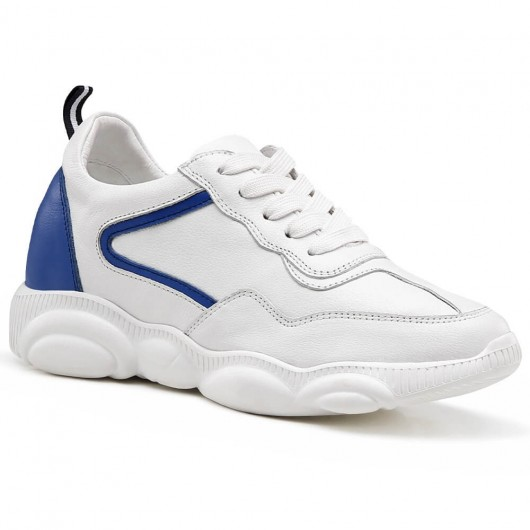 Chamaripa verhogende schoenen dames schoenen met ingebouwde hak sneakers met verhoogde binnenzool 8 CM