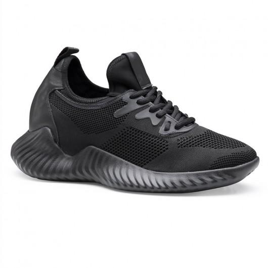 Chamaripa verhoogde schoenen schoenen met hoge zolen voor mannen sneakers met hoge hak 6 CM Langer