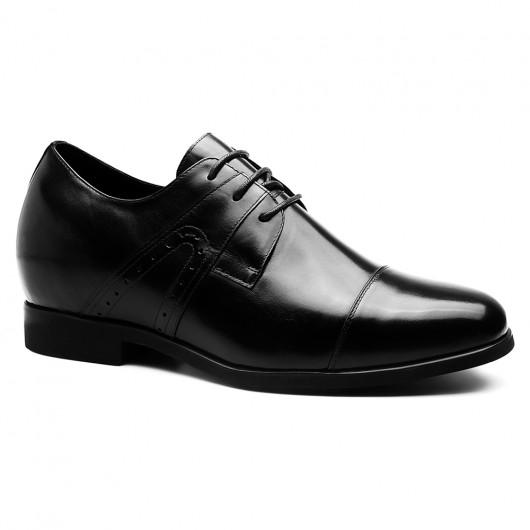 Chamaripa verhoogde zolen voor mannen nette mannen schoenen schoenverhoging 7 CM