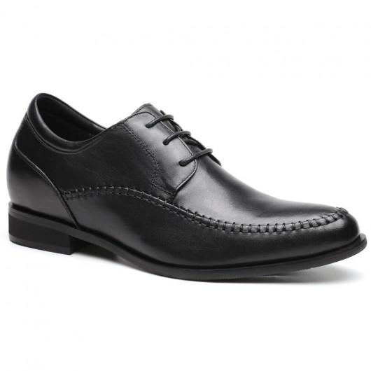 CHAMARIPA herenschoenen verhoogd Zwart Hoge hak heren kleding schoenen 7 CM Langer