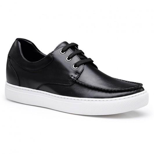 Chamaripa verhoogde schoenen voor hoog hak heren schoenen mannen op hoge hakken zwarte sneakers heren 6 CM