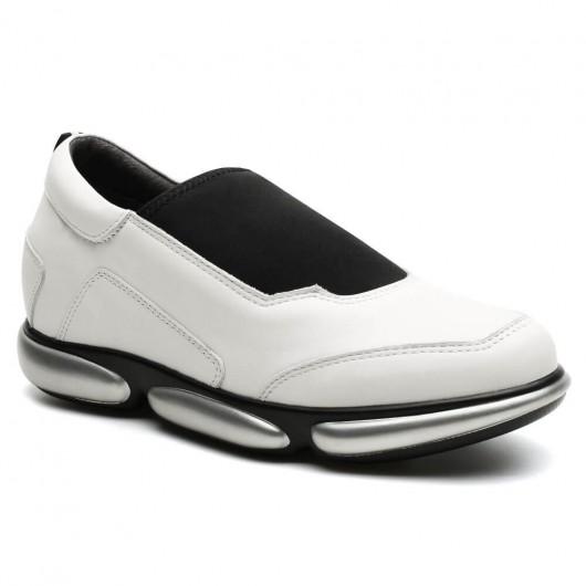 Chamaripa Verhogende Schoenen schoenen met verhoogde hiel Wit 7 CM Langer