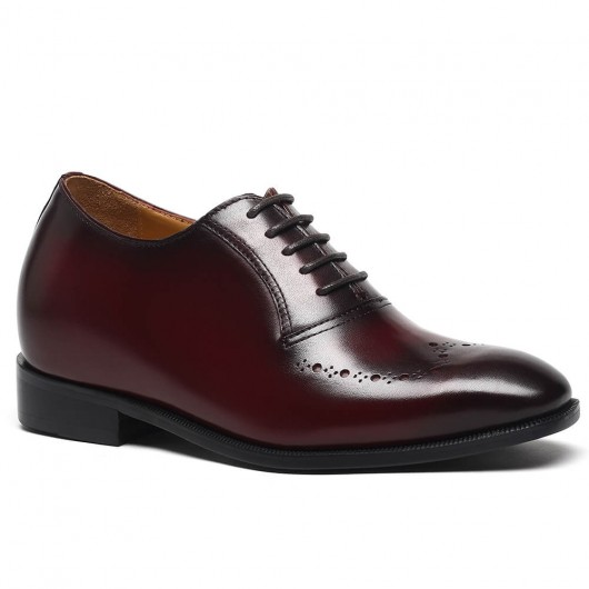 Op maat gemaakte lift hoogte toenemende schoenen Op maat gemaakte stijl handgemaakte mannen hefschoenen