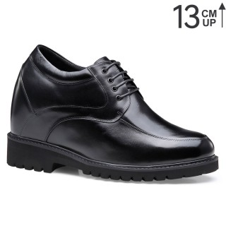 12 CM Elevator Shoes High Heel Men Dress Shoes that Give You Height  4.72 Inches