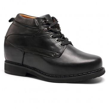 Chamaripa verhogende herenschoenen zwart kleding Schoenen die je langer maken 13CM
