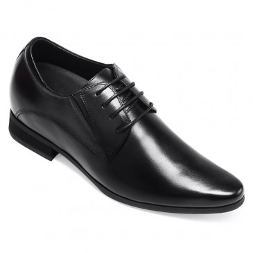 Chamaripa Schoenen Die je Langer Maken verhoogde schoenen heren Zwart nette schoenen heren 8.5 CM Langer