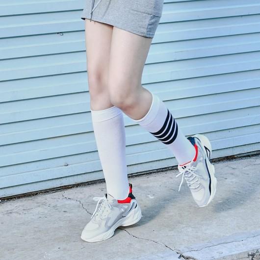 CHAMARIPA kvindes lift-sneakers hvide skjulte høje hæle chunky sneakers til kvinder 7CM
