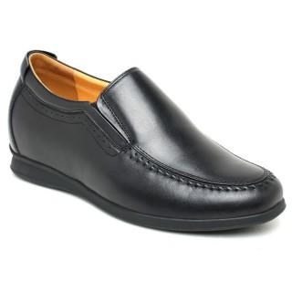 Chaussure à Talonnette Grandissante pour homme Cuir Pure chaussure a talon pour homme en cuir pure (2.56'') Plus grand