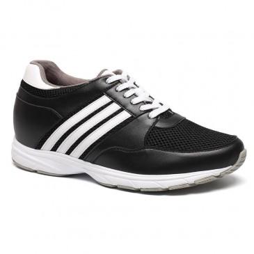 hautes chaussures réhaussantes de sport confortables pour hommes chaussure grandissante de 8cm Plus Grand