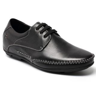 CHAMARIPA aumento de la altura de los zapatos tacon alto para hombres de los holgazanes de barcos