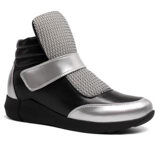 Hidden Heel Shoes for Women Casual Women elevator Shoes