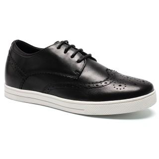 Zapatos para mujer de los zapatos de tacón de elevación ocultos para Mujeres zapatos de hombre para verse mas alto