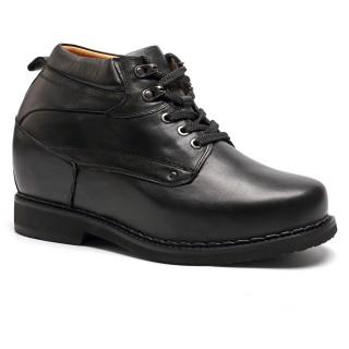 13CM Zapatos alzas estafadores aumentar la altura zapatos para aumentar estatura hombre más altos cortos 5,12 pulgadas