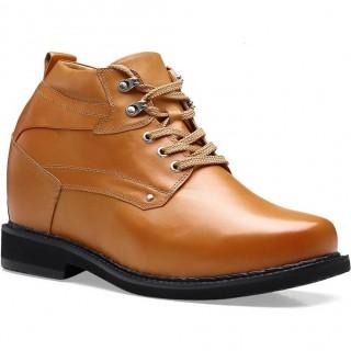 Height Increasing Boots Hidden Heel Working Boots Men Taller Shoes 13 CM / 5.12 Inches