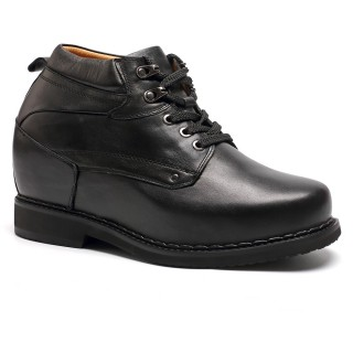 Tall Mens Boots Elevator Shoes 5.12 inches Height Increasing Dress Shoes Make Men Taller 13CM